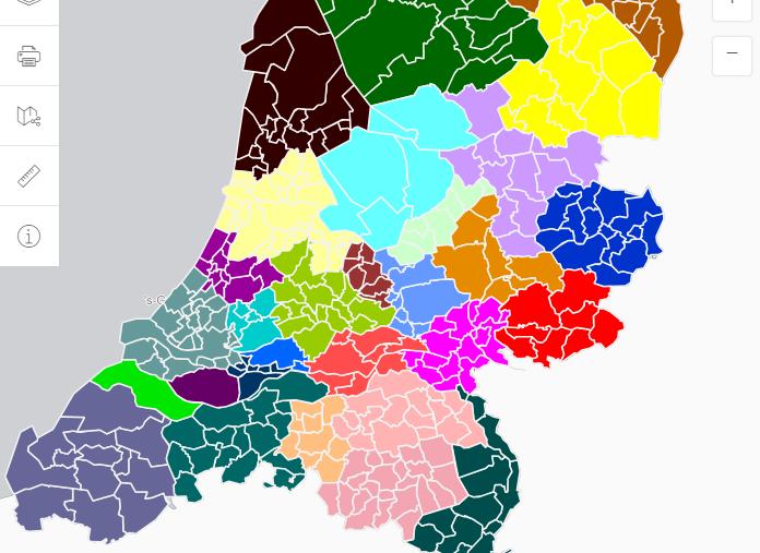 Ruimtelijke potentie-analyses voor 30 RES-regio's