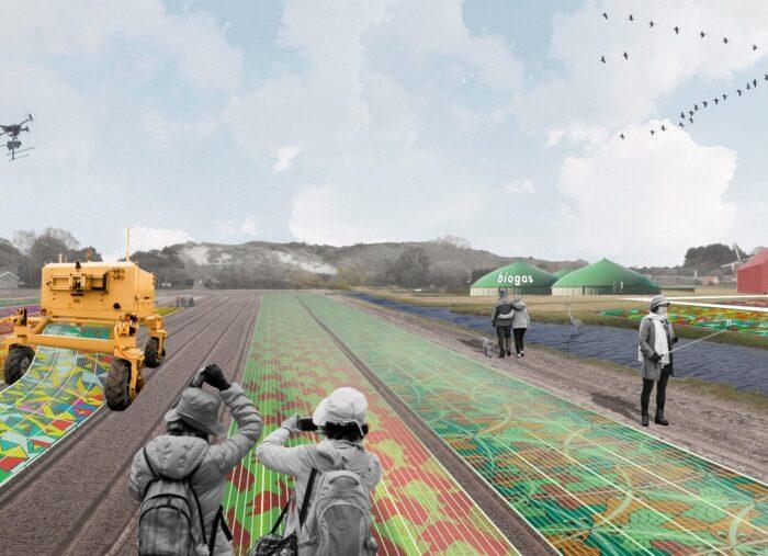 Energie in de landbouw: ontwerpen met mobiele zonnevelden